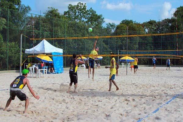 Areia para quadra esportiva