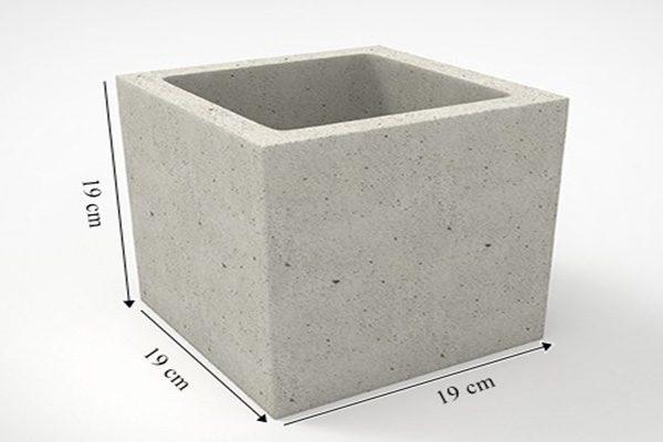bloco 19x19x19 medida