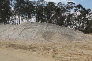 Areia Lavada Preço SP